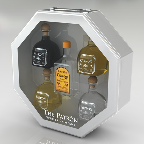 Patron_Custom-Packaging_5BottleOctoConcept